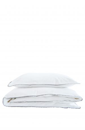 BÄDDSET - VITT , 100% BOMMUL | Exklusiva sängkläder och påslakan