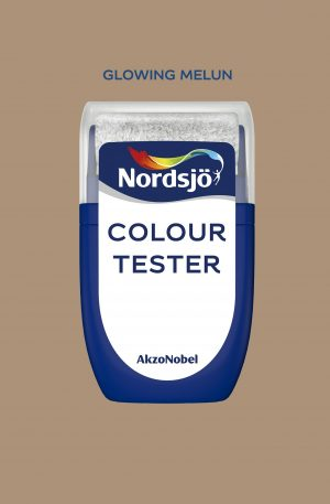 NORDSJÖ FÄRGTEST - Glowing Melun Nordsjö Colour Tester