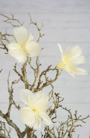 PÅSKFJÄDRAR- Ljusgul | Vackra fjädrar i en härlig ljusgul nyans som förgyller hela påsken