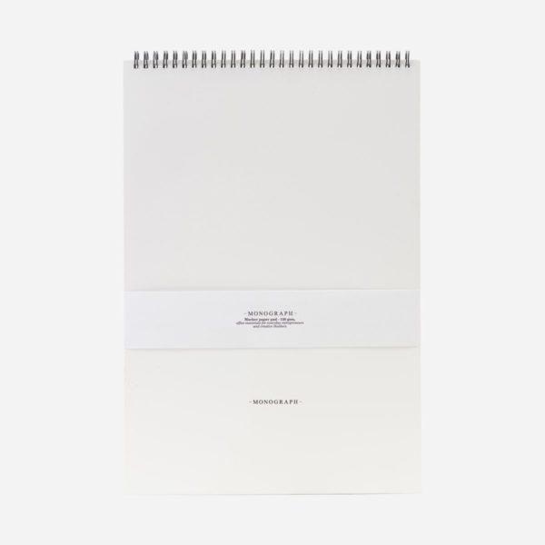 Stilrent och funktionellt anteckningsblock från Monograph